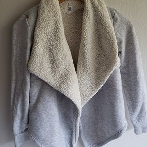 🌸Gap Kid's Sherpa Lined Sweater
